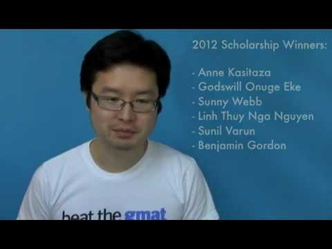 Congrats to the 2012 Beat The GMAT Scholarship Winners!
