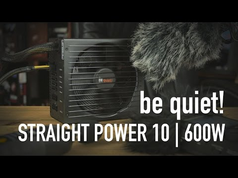 be quiet! Straight Power 10 | 600W Overview