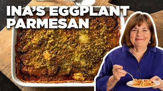 Cook Roasted Eggplant Parmesan With Ina Garten   Food Network