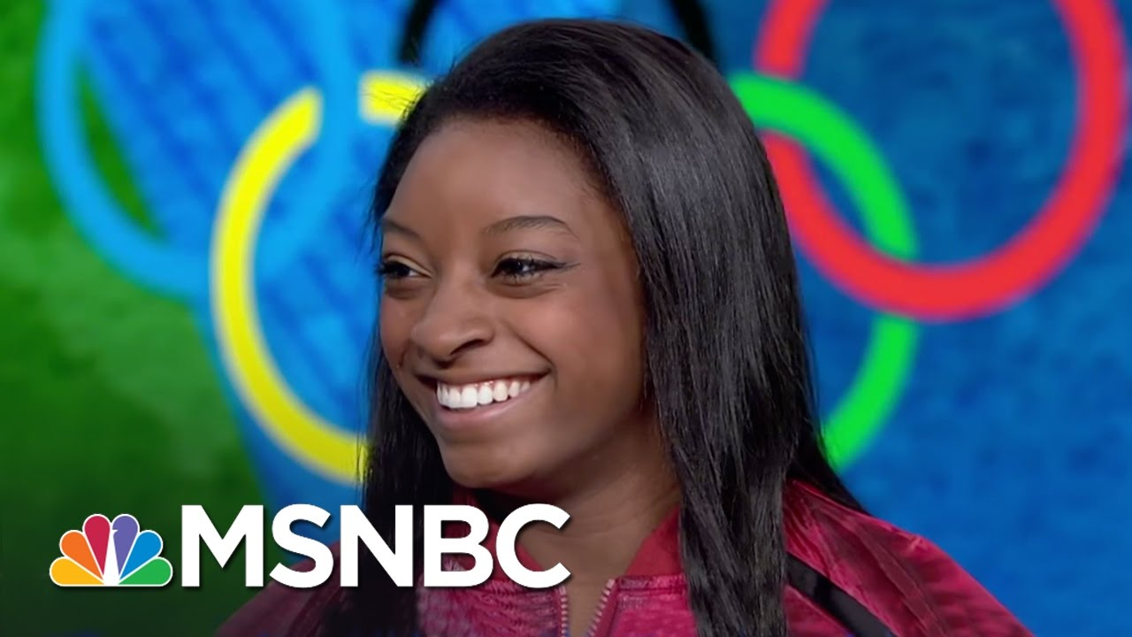 Olympic Star Simone Biles Speaks About Her Success, Adoption By Grandparents | MSNBC thumbnail