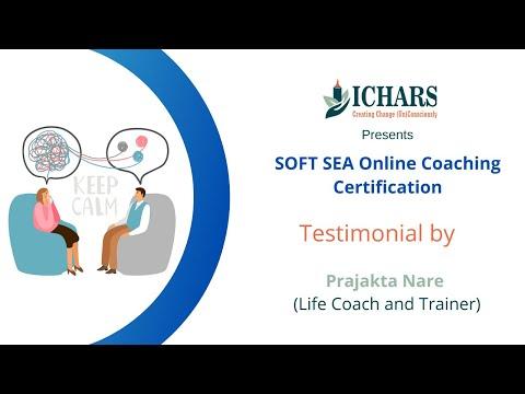 Soft Sea Coaching Online Certifications Testimonial by Prajakta ...