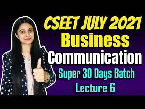 CSEET Business Communication Class 6 | Super 30 Days Class | FREE CSEET Online Classes