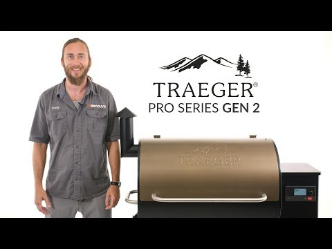 Traeger Gen 2 Pro Series Wood Fired Pellet Grill Overview