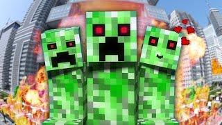 НЯША КРИПЕР - Майнкрафт Клип | Minecraft Parody of PSY