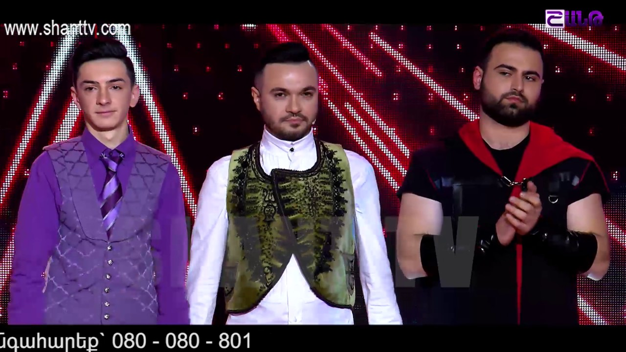 X-Factor4 Armenia-2nd Gala Show-26.02.2017