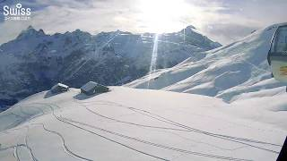 絶景スキーを満喫!観光スポット、ユングフラウ地方のフィルスト山【スイス情報.com】
