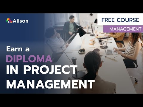 Diploma in Project Management- Free Online Course with Certificate