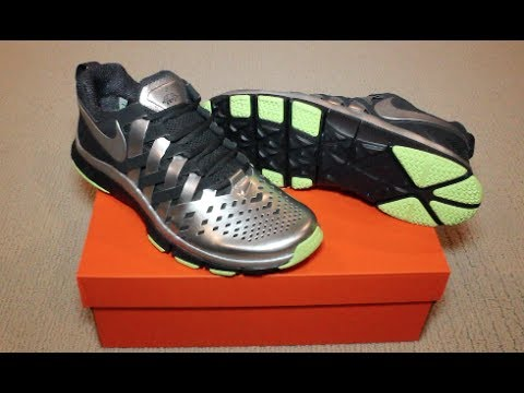 Unboxing & Review of NIKE Free Trainer 5.0 (Super Bowl Edition)
