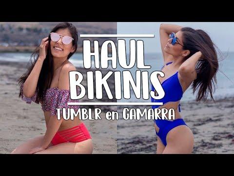 HAUL BIKINIS estilo Tumblr en GAMARRA l Daniella Acosta