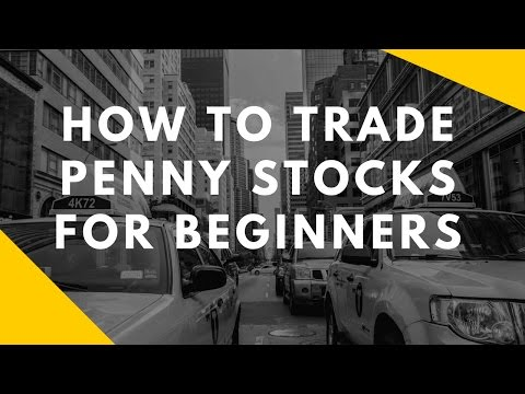 How To Trade Penny Stocks For Beginners - YouTube