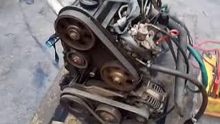 Проверка двигателя 1Y, для установки в трактор.