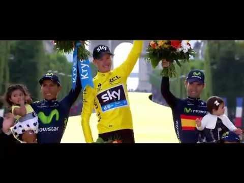 Promo ITV Tour de France en Anglais