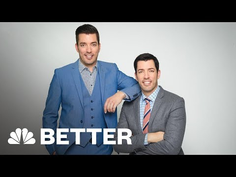 Video trailer för Property Brothers: We Figured Out How To Work With Family Members   Better   NBC News