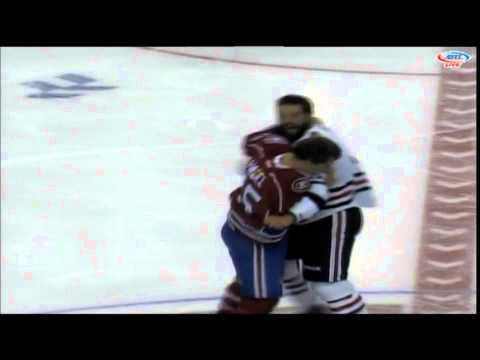 Brandon Bollig vs. Kyle Hagel