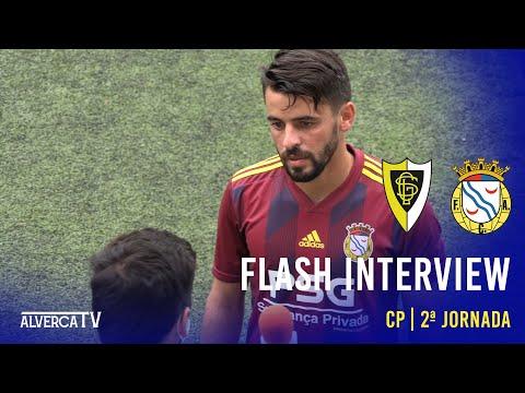 Flash Interview Loures 0-2 FC Alverca
