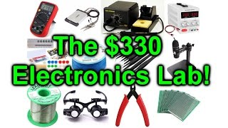 Gambar cover EEVblog #954 - How To Setup An Electronics Lab For $300