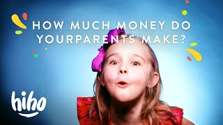 How much money do your parents make? | 100 Kids | HiHo