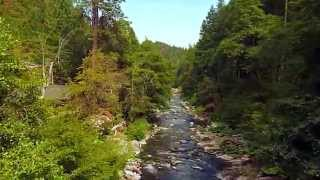 Aerial Video over North Yuba River - Downieville, CA