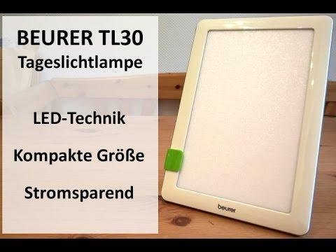 Test: Tageslichtlampe Beurer TL30 mit LED