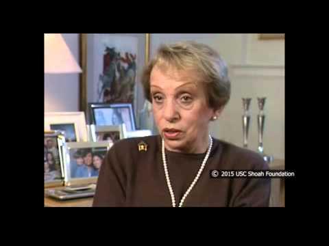 ניצולת השואה, הרטה זאוברמן, מספרת על הרעב בצעדת המוות