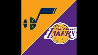 Utah Jazz Vs. Los Angeles Lakers LIVE Stream Reaction!