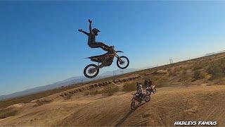 FPV Drones, Desert, Jumps and Dirt Bikes