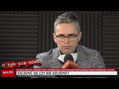 Wideo1: Szczepić się czy nie szczepić? - pytamy dr. Łukasza Kasprzaka z Wojewódzkiego Szpitala Zespolonego w Lesznie