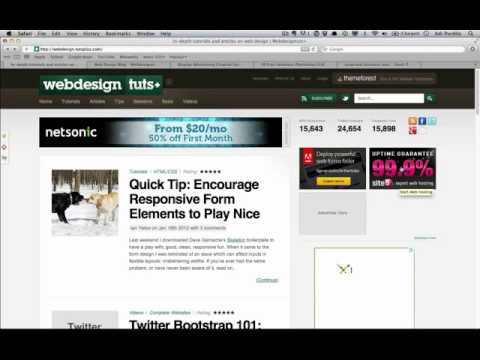 Design a Smart Series of Banner Ads in Photoshop: Introduction