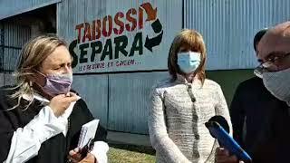 Tabossi. Conferencia de prensa