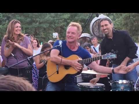 Sting - Message in a bottle live