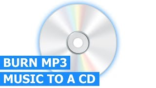 How to burn MP3 to an Audio CD for any CD player & car stereo using Windows Media Player