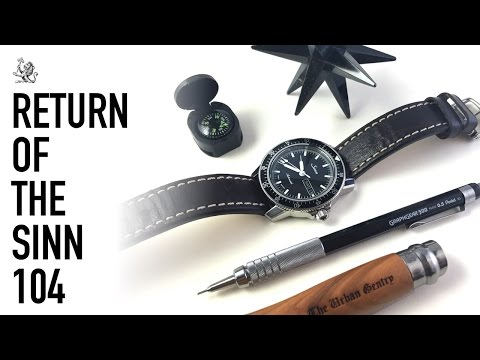 The Sinn 104 Pilot Watch (A Re-Review) –  Is It Still A Perfect Everyday Watch? + Breitling Unboxing
