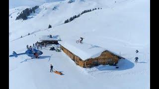 Спорт приколы, трюки прыжки с парашютом, по снегу, по воде