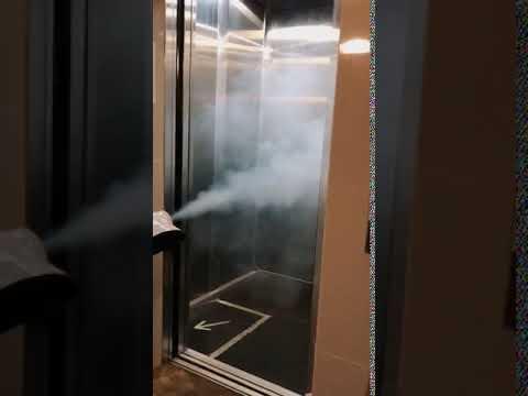 Elevator Disinfection