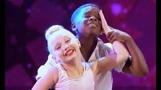 America's Got Talent   Artyon & Paige (Artyon Celestine & Paige Glenn) - Time of My Life   AGT 2017