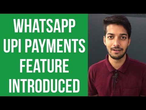 Whatsapp UPI payments is finally here but only on Beta