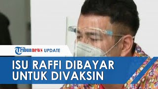 Najwa Shihab Sindir Isu Raffi Ahmad Dibayar untuk Divaksin Tahap Pertama, Ayah Rafathar Bodo Amat