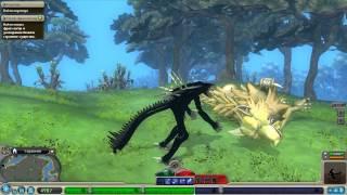 Играем за Королеву, в Spore (Этап существо)