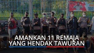 11 Remaja yang Hendak Tawuran di Padang Diamankan Polisi, 2 di Antaranya Perempuan