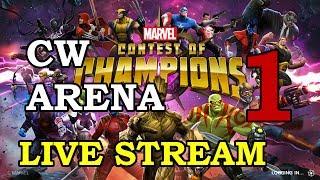 Civil Warrior Arena - Part 1   Marvel Contest of Champions Live Stream