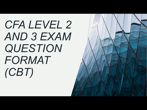 Updates on CFA Level 2 and 3 Exam Question Format - YouTube