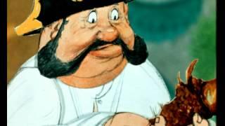 Смотреть онлайн Мультфильм «Как один мужик двух генералов прокормил», 1965 год