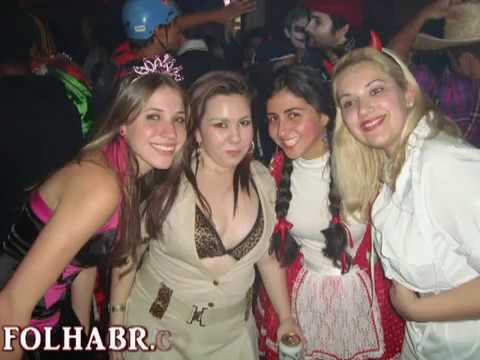 Veja quem estava no Baile das Bruxas de 2010 na Disk - Jú