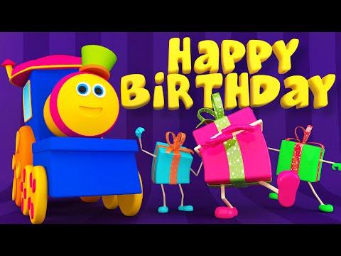 Bob The Train | Happy Birthday Song | #KidsTV