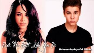 Aaliyah & Justin Bieber - Rock The Boat Like You Do (Mashup)
