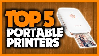 Best Portable Printers in 2020 [5 Picks For Photos, Documents & More]