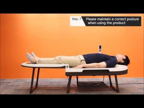 Wirbelsäule Behandlung von einem Arzt
