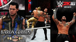 WWE 2K16: Baron Corbin wins the US-Title in 12 seconds!