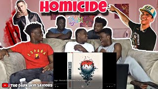 Logic   Homicide (feat. Eminem) (Official Audio)(Reaction)