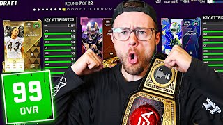 I did a Full 6 Game Ranked MUT Draft Championship run in 1 video..
